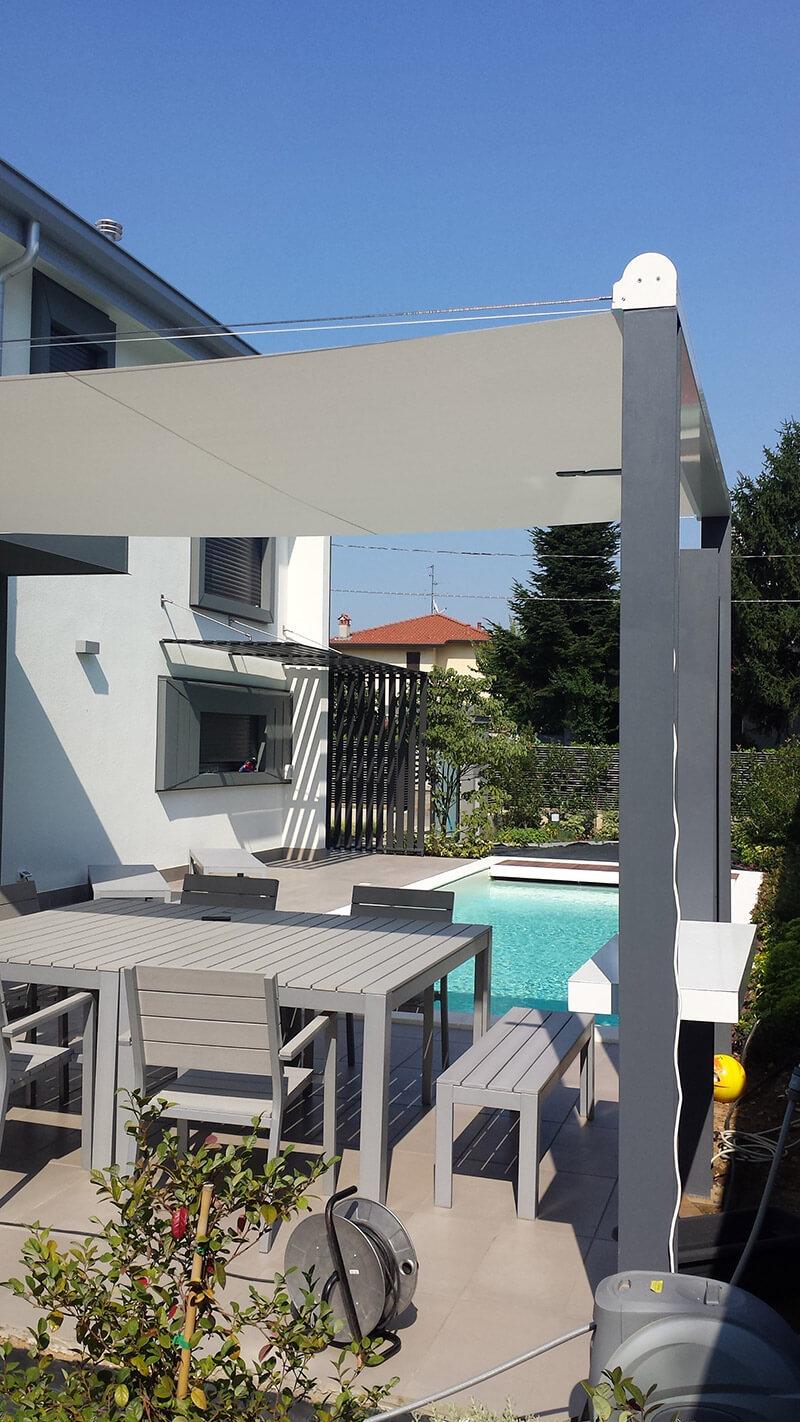 Tende per giardini e terrazzi essediesse - Arredamenti per giardini e terrazzi ...