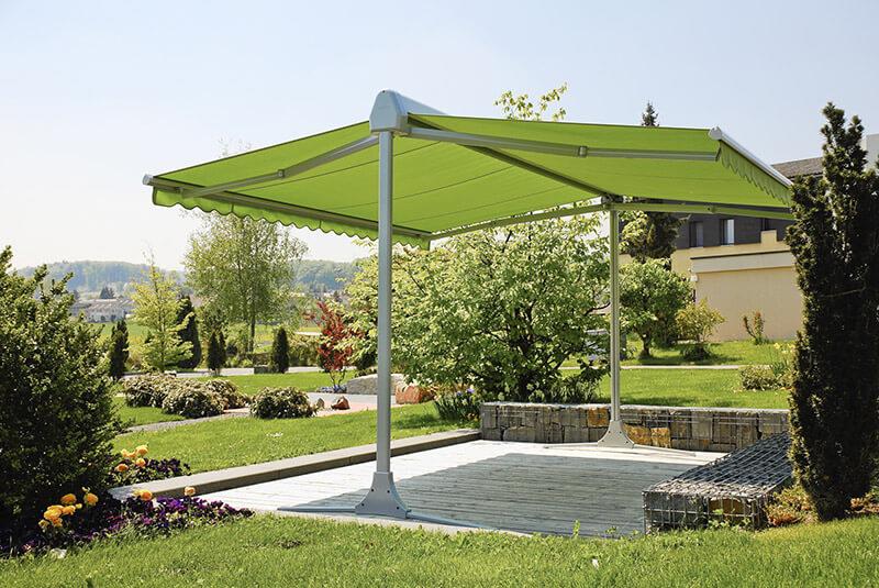 Tende per terrazzi e giardini essediesse